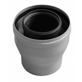 Коаксиальный переходник с диаметра 80/125 мм на диаметр 60/100 мм Baxi (KHG71411941)